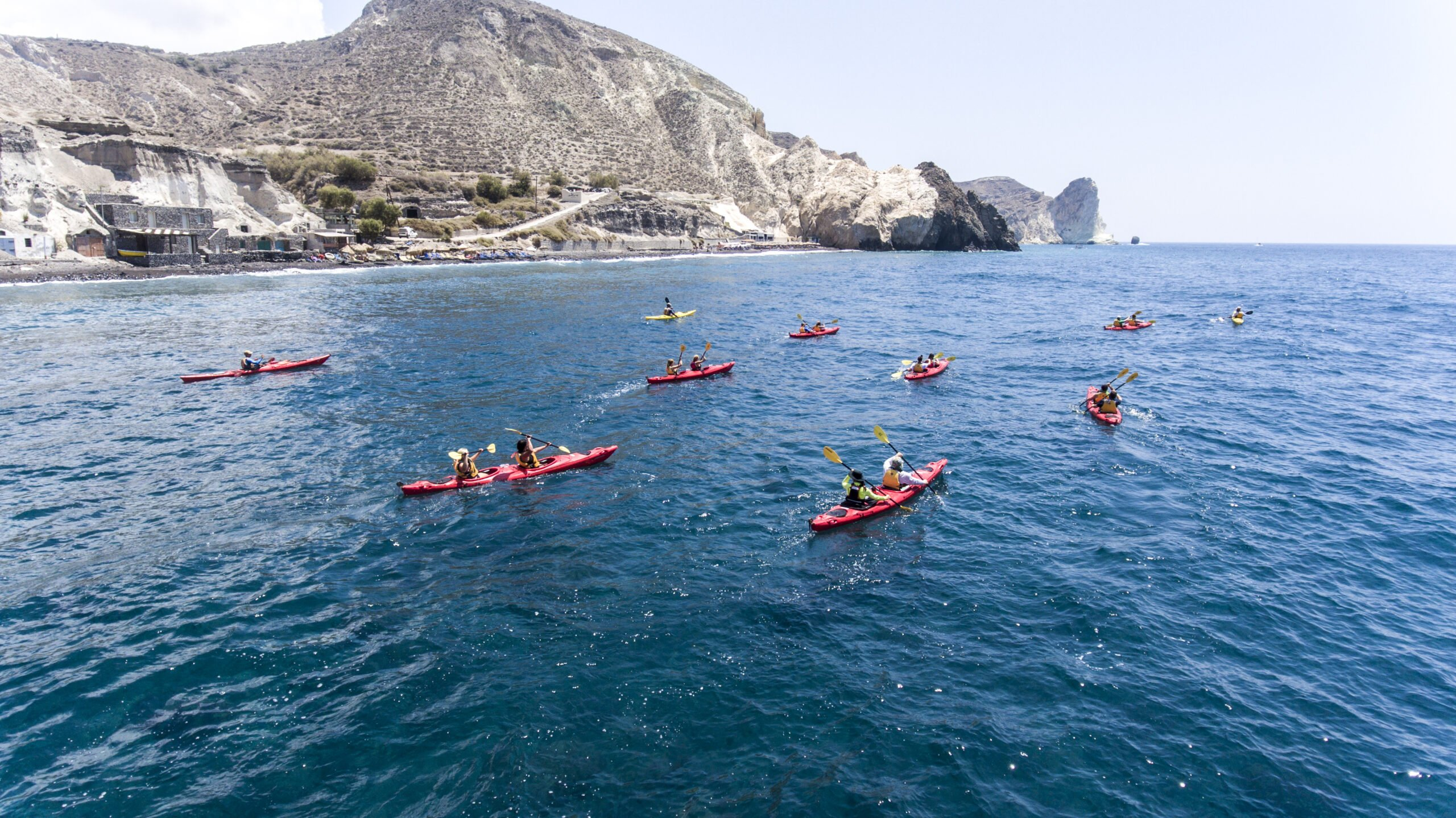 Our Morning Sea Kayak & Snorkeling Tour In Santorini Is Fun For The Entire Family_92