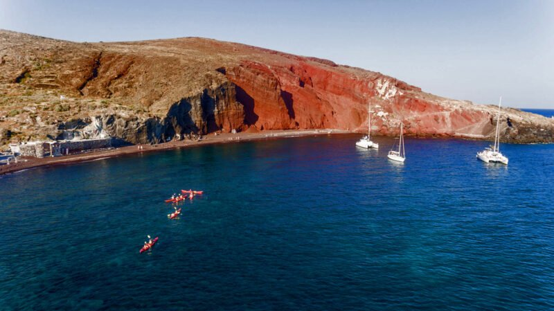 Our Sunset Sea Kayak & Snorkeling Tour In Santorini Is Fun For The Entire Family_92