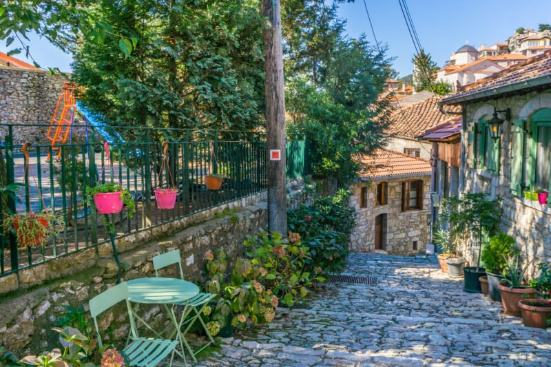 Pass The Traditional Village Of Dimitsana On Your 6 Day Classic Greece Self- Driving Adventure Package Tour