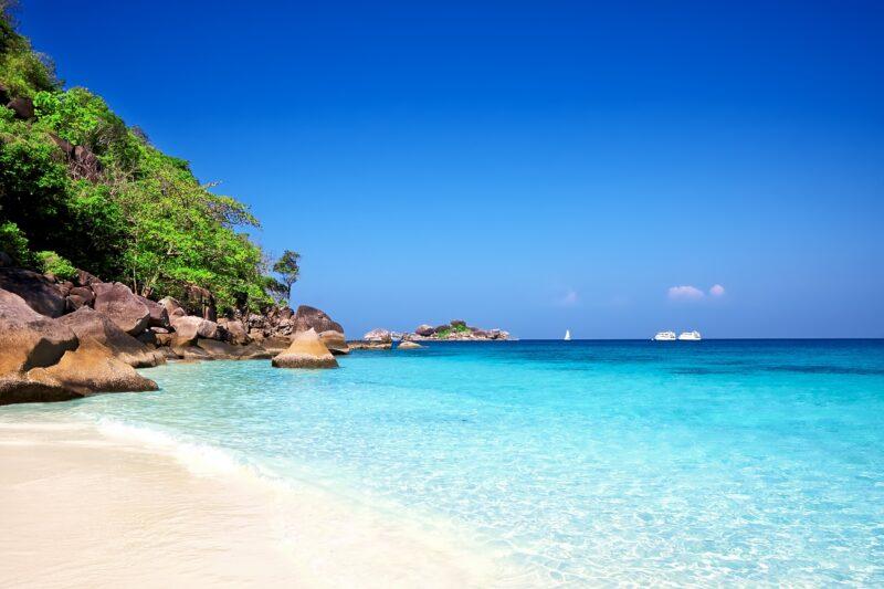 Relax At The White Beaches Of Phuket