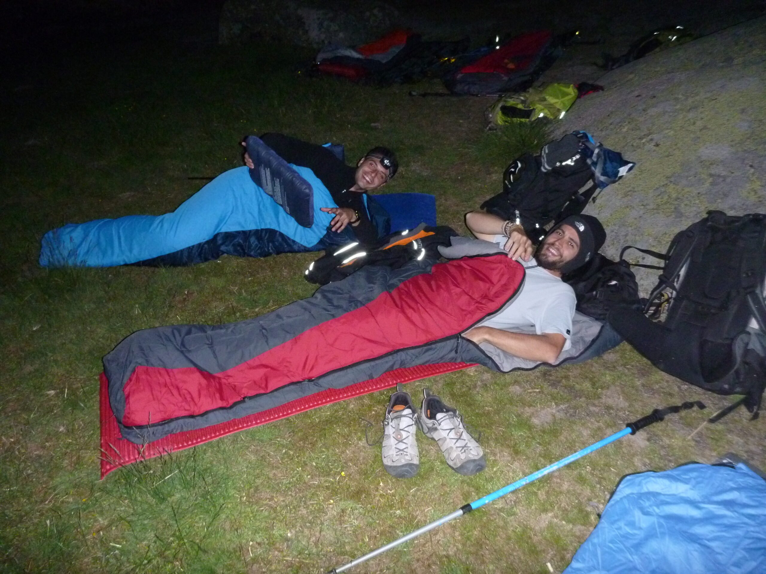 Spend 1 Overnight In Bivouac Only With Sleeping Bag And Pad Under The Endless Starry Sky.