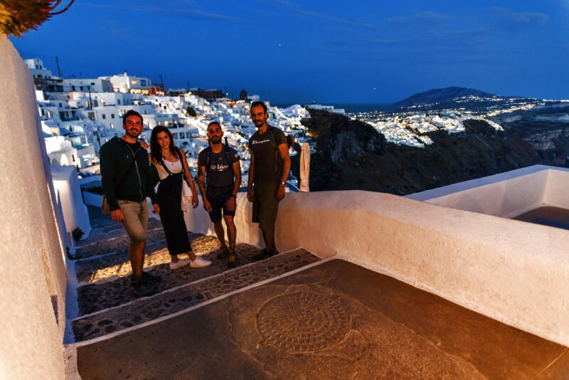 Stroll Through The Streets Of Santorini On The Join Us To The Night Hike, Wine Tasting & Dinner Experience In Santorini_92