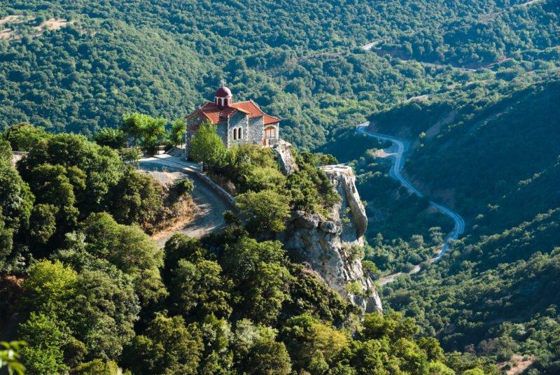 Take A Trek Through The Georgeous Lousios Gorge On The Classic Greece 6 Day Adventure Package Tour