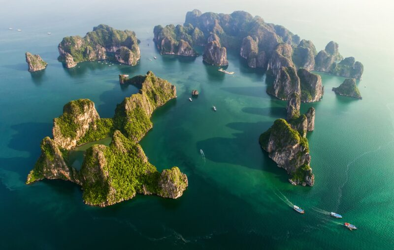 The Halong Bay Cruise Will B A Highlight Of The Wonders Of Vietnam, Cambodia & Thailand 15 Day Package Tour