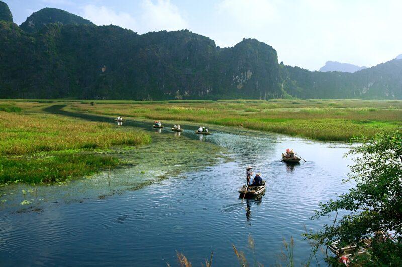 Van Long Natural Reserve