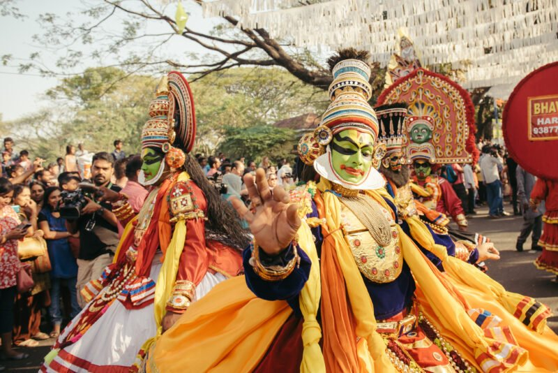 Witness A Kathakali Dance Performance In Our 3 Day Wildlife And Culture Tour Of Thekkady From Kochi