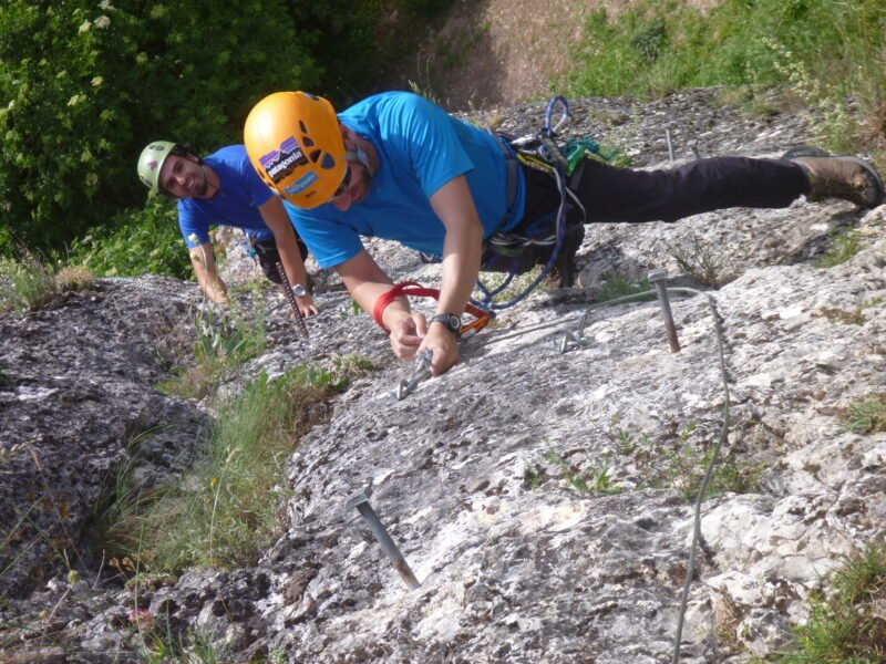 Amazing Views In Our Via Ferrata Adventure Tour From Madrid