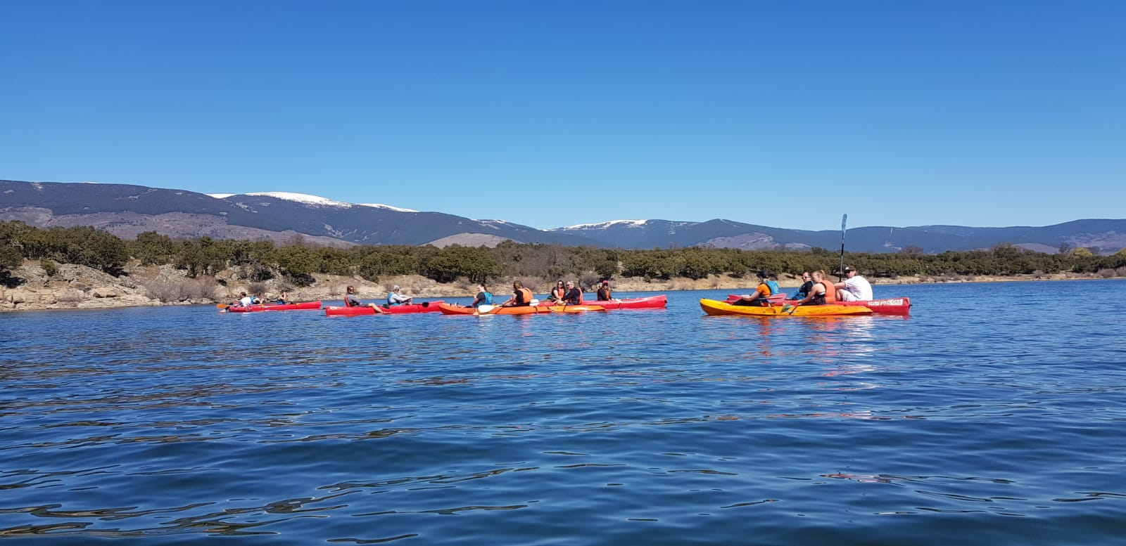 Amazing Water Activity In Our Guadarrama National Park Kayaking Adventure