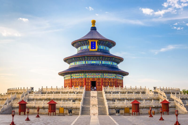 Discover Beijing Historic Temple Of Heaven In Our China Private Impression 14 Day Package