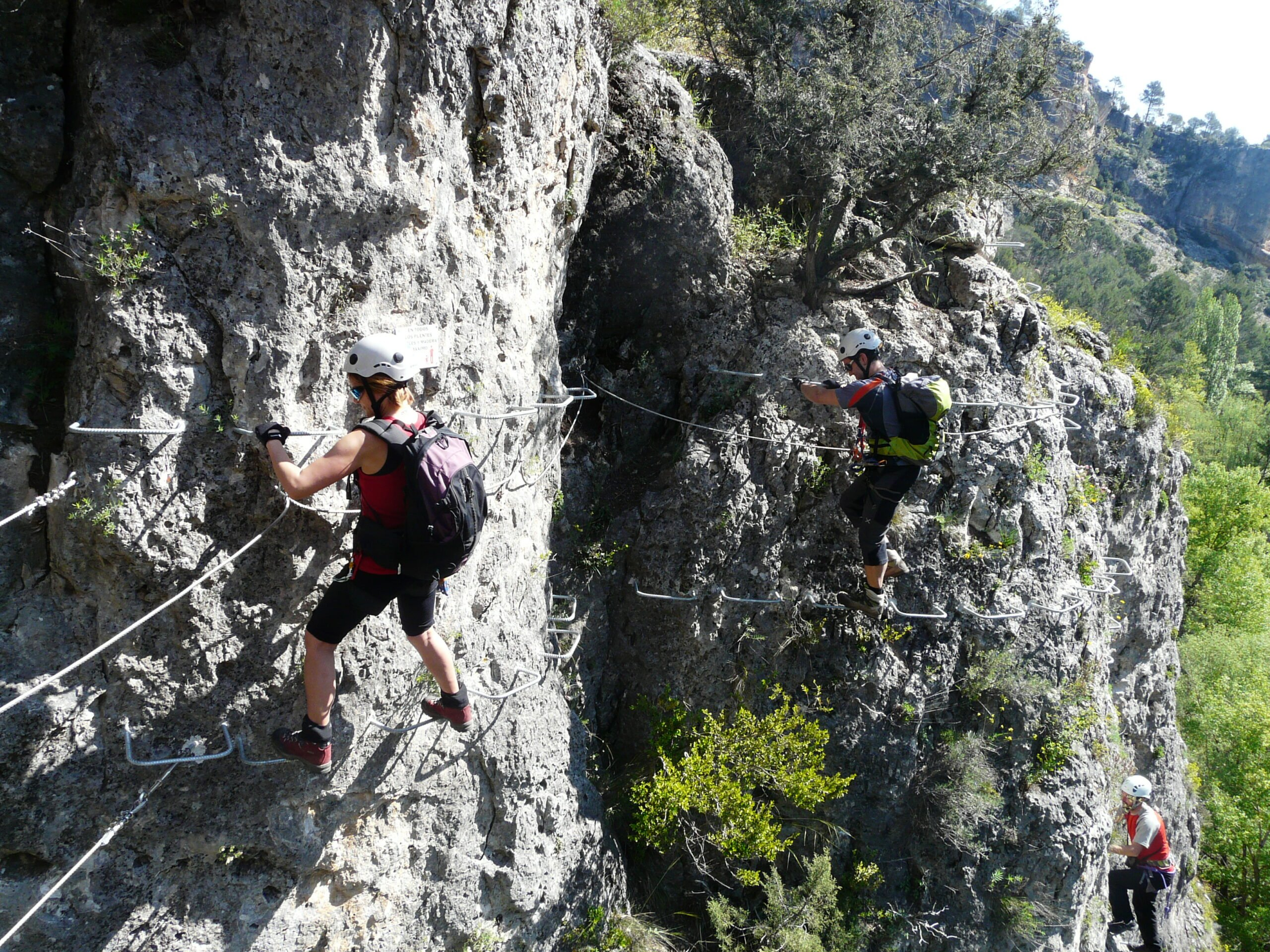 Discover Hoz De Priego In Our Via Ferrata Adventure Tour In Cuenca