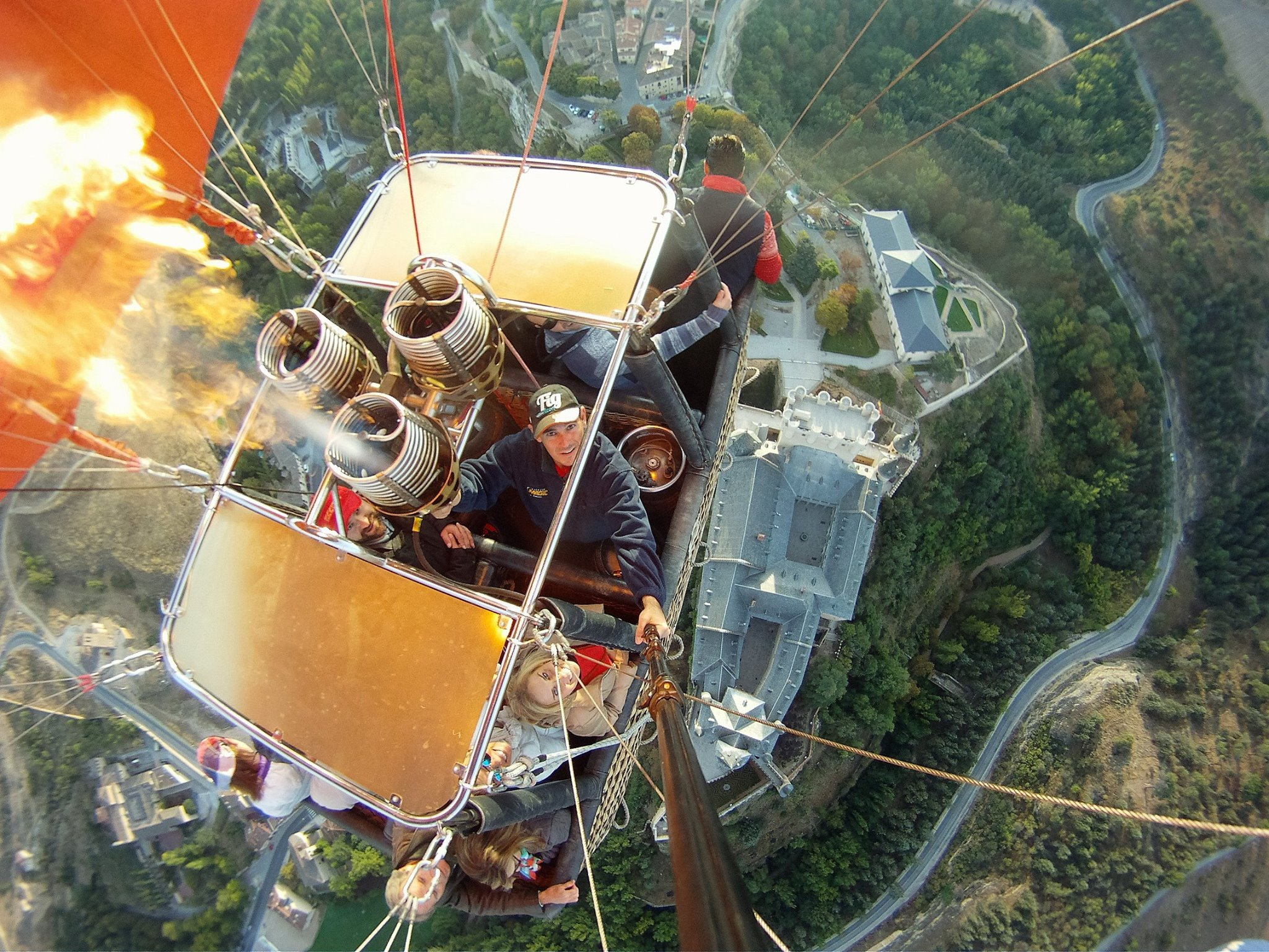 Discover Segovia From Above In Our Hot Air Balloon Experience In Segovia From Madrid