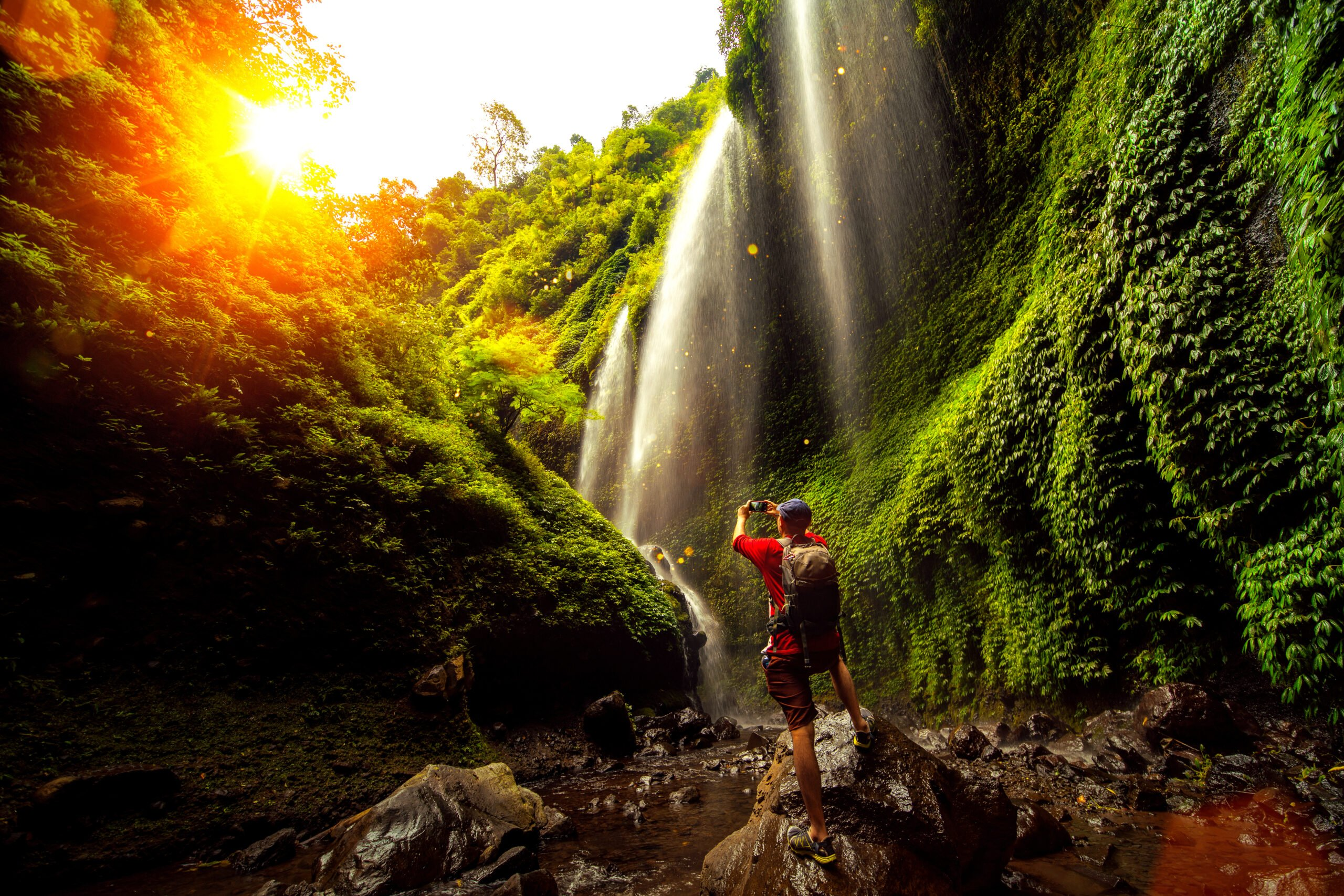 Discover The Amazing Madakaripura Waterfall In Our Mount Bromo Sunrise And Madakaripura Waterfall Tour From Surabaya:malang