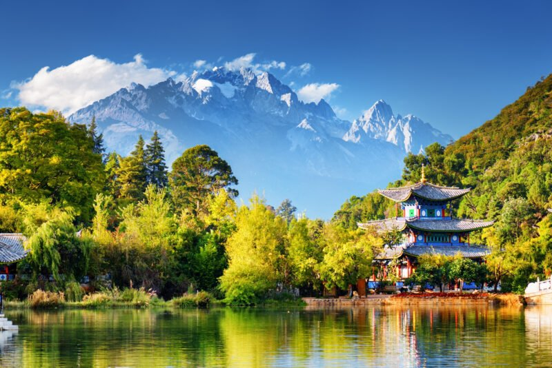Enjoy The Amazing View Of Black Dragon Pool In Our 8 Day Wild Yunnan Package