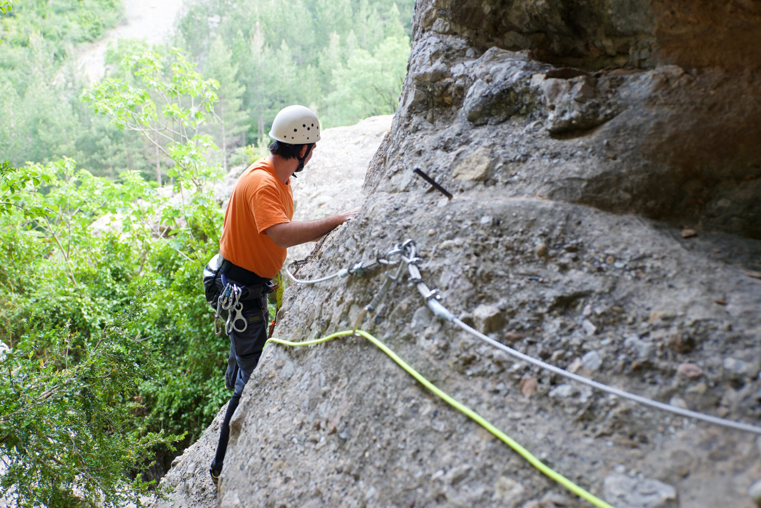 Explore Boca Del Infierno In Our Via Ferrata Adventure Tour From Madrid