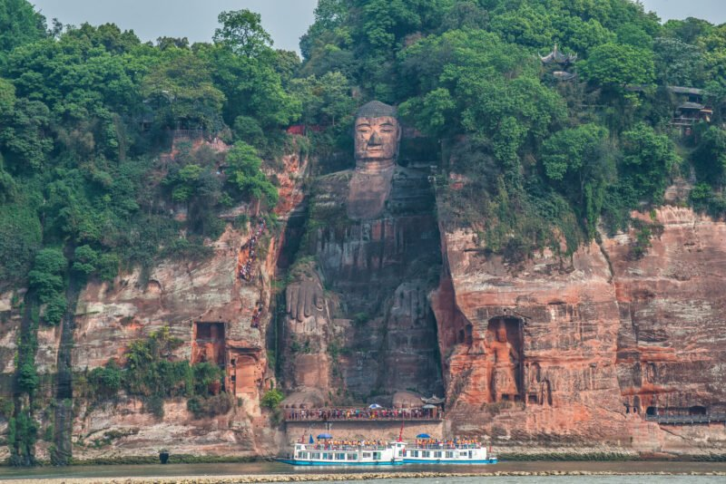 Explore One Of Sichuan Most Amazing Sites In Our Leshan Giant Buddha And Luocheng Ancient Town Private Tour