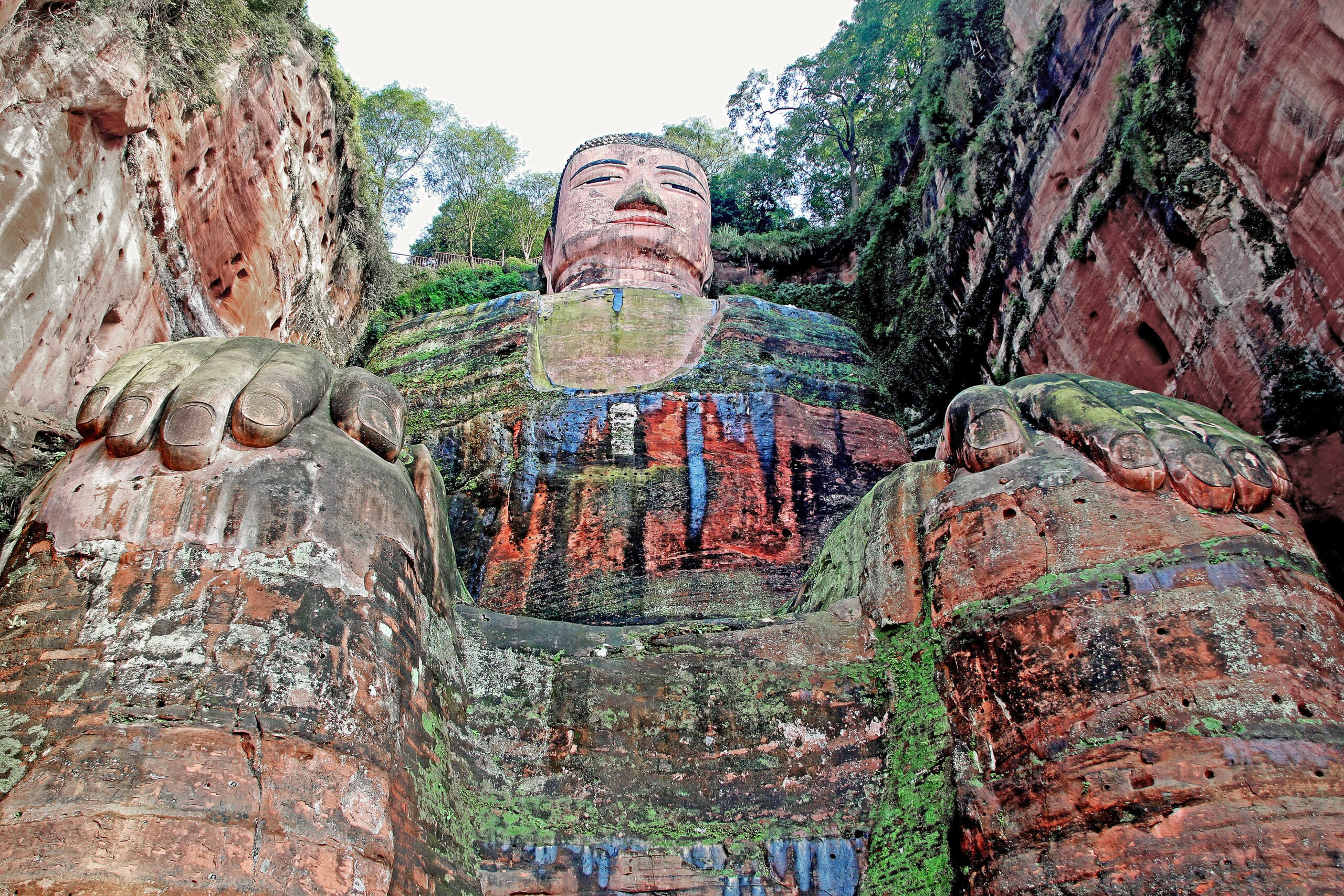 Explore The Leshan Grand Buddha In Our Leshan Giant Buddha And Luocheng Ancient Town Private Tour