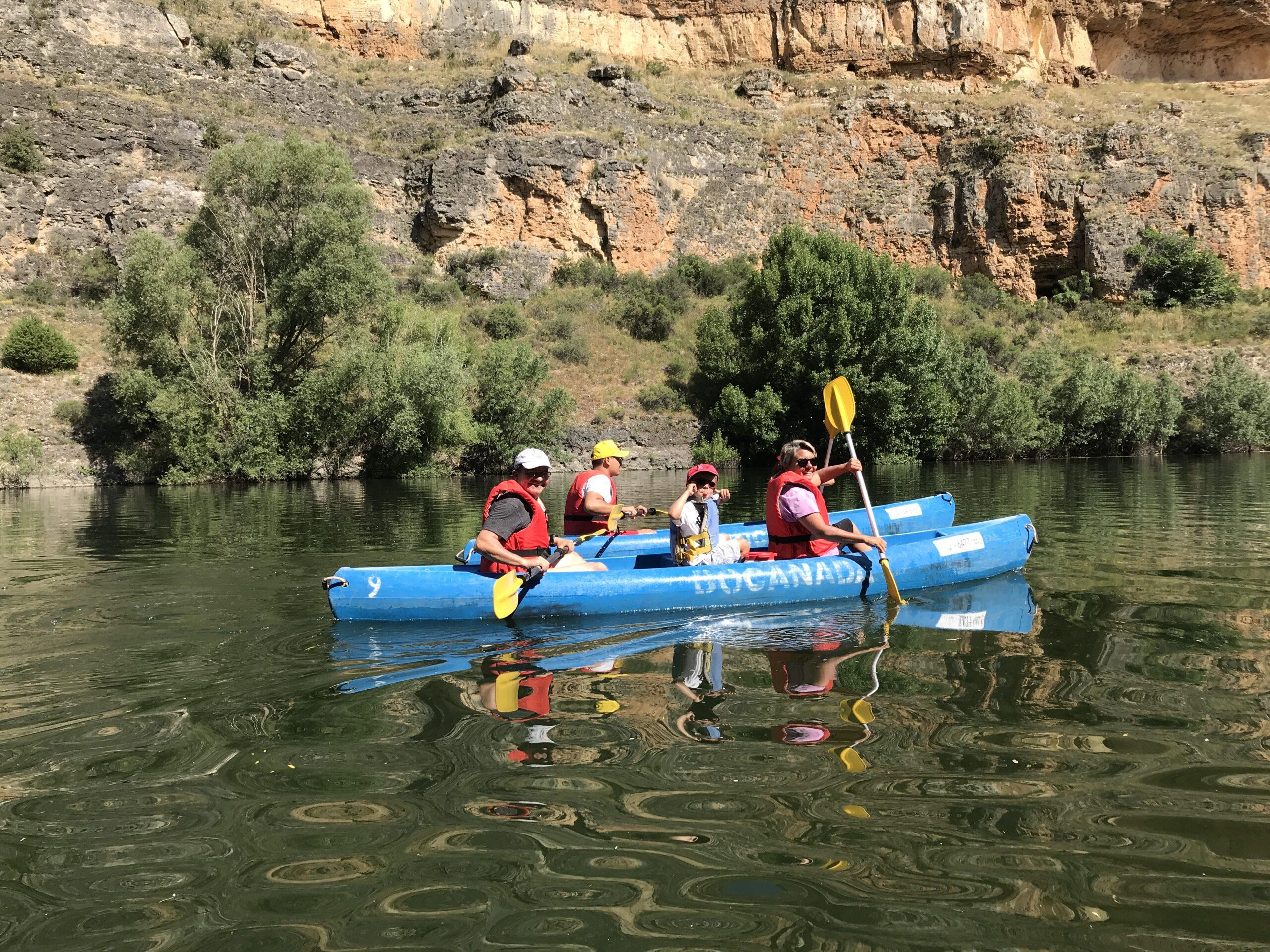 Explore The River Duratón Natural Reserve In Segovia In Our Segovia Kayaking Adventure