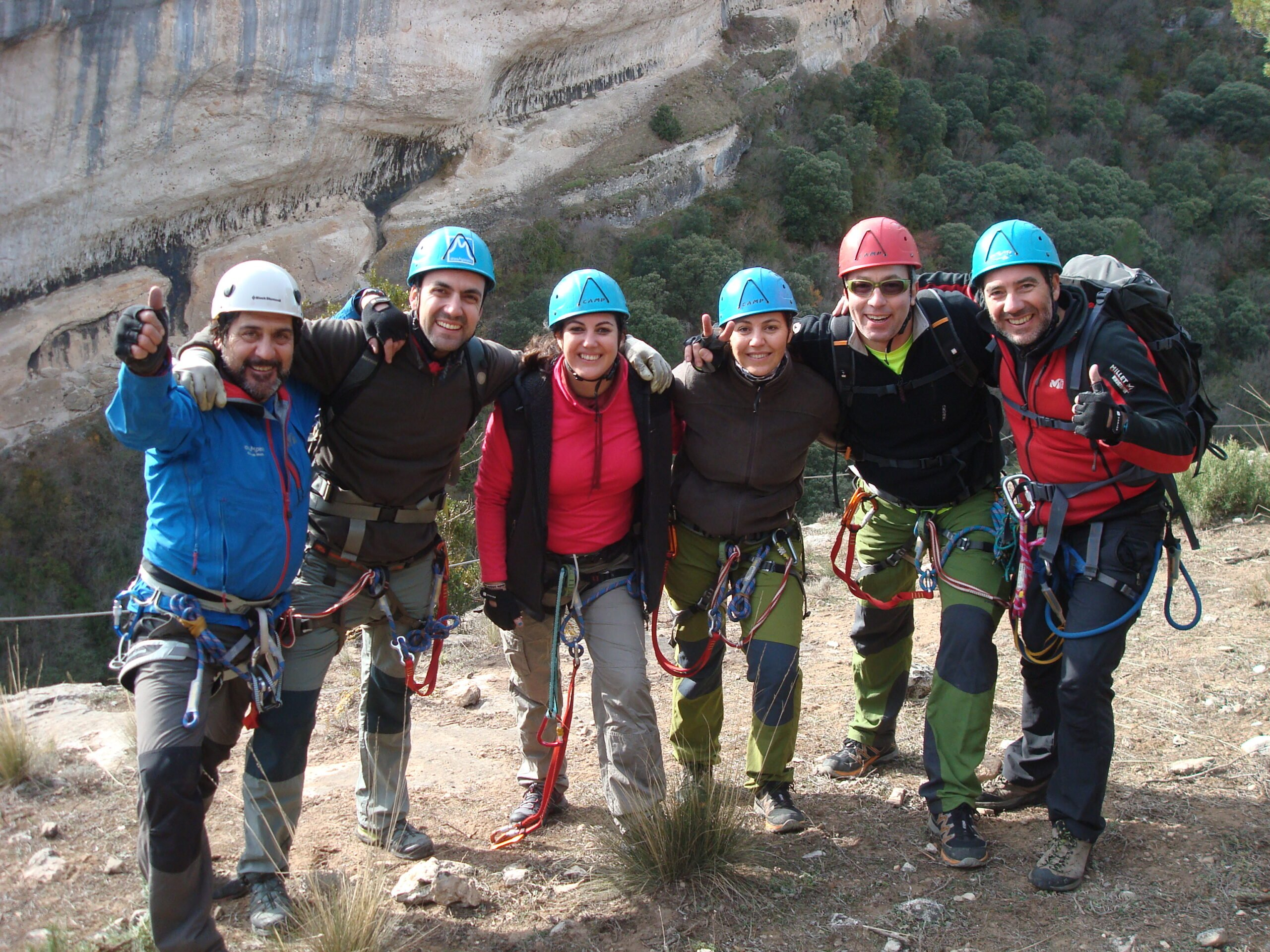 Fun Activity For All Family In Our Via Ferrata Adventure Tour From Madrid