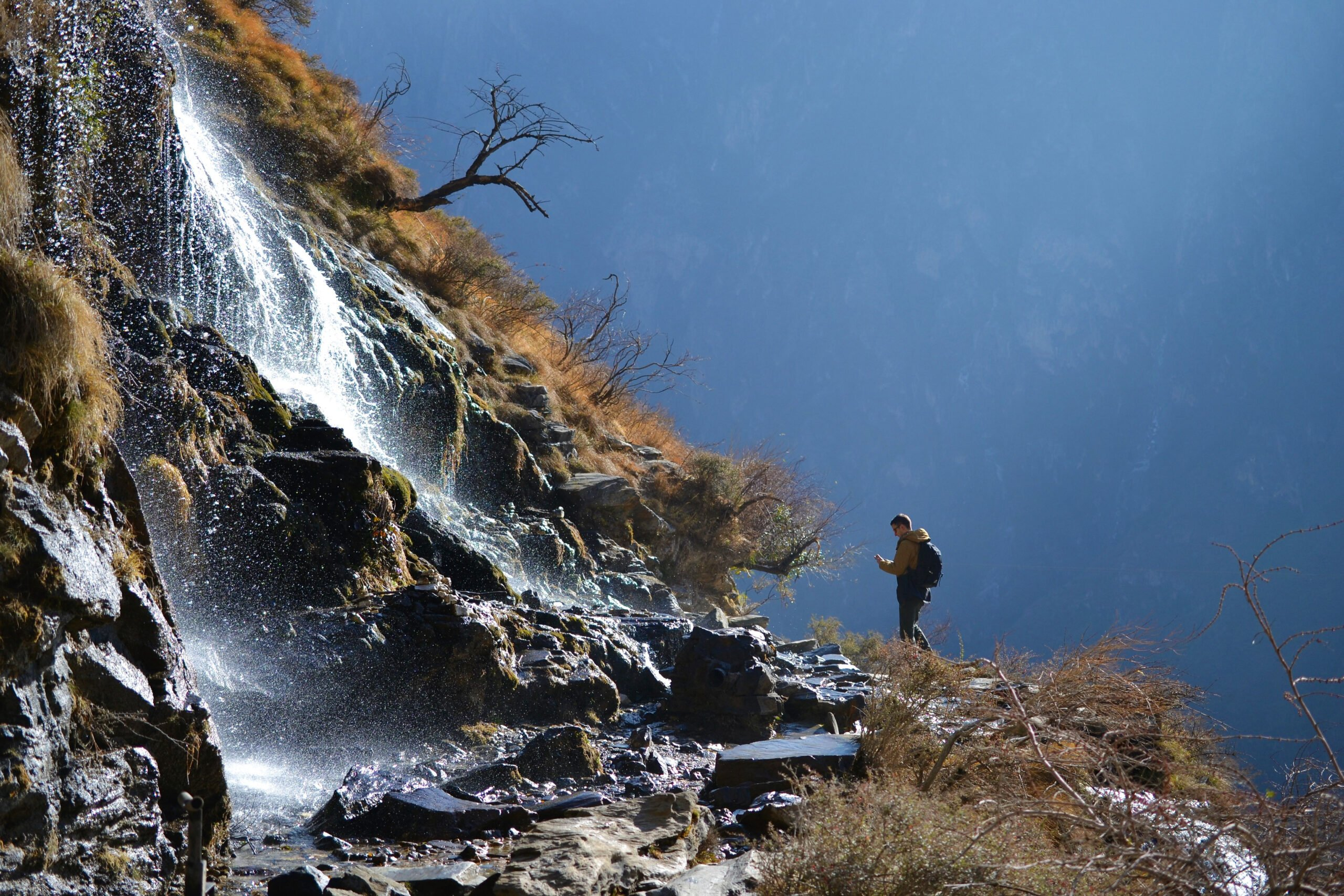 Hiking In The Tiger Leaping Gorge In Our 8 Day Wild Yunnan Package
