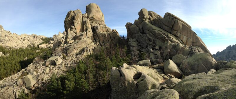 Iscover Forms In The Big Amount Of Rocks Of La Pedriza In Our 2 Day Hike And Camp In La Pedriza