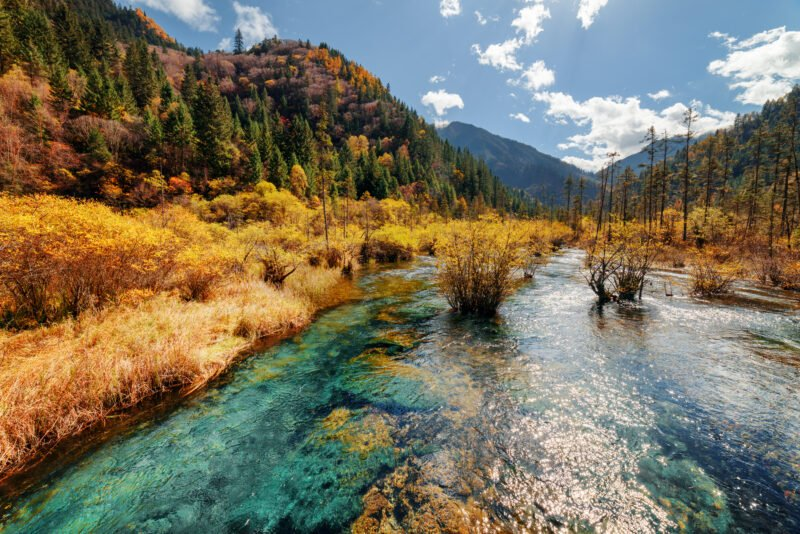 Marvel The Amazing Colors In Our Jiuzhaigou Valley 3 Day Package