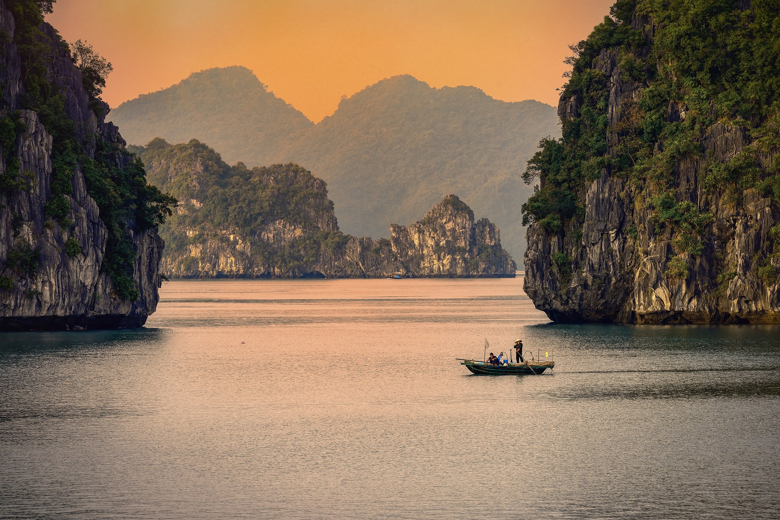 Relax On A Cruise At The Famous Ha Long Bay On The 15 Day Vietnam Wellbeing & Yoga Package Tour
