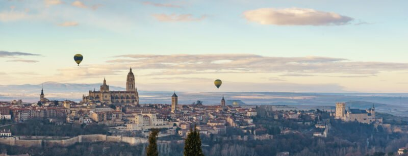 Hot Air Balloon Experience In Segovia From Madrid_5
