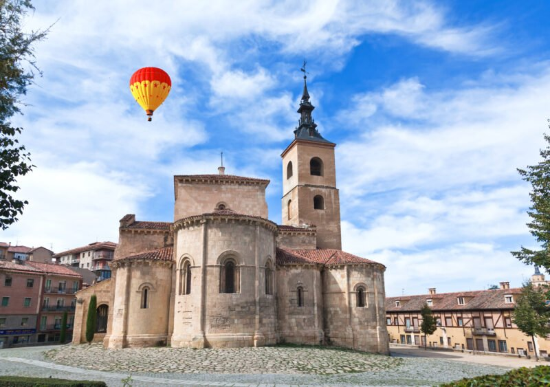 Hot Air Balloon Experience In Segovia From Madrid