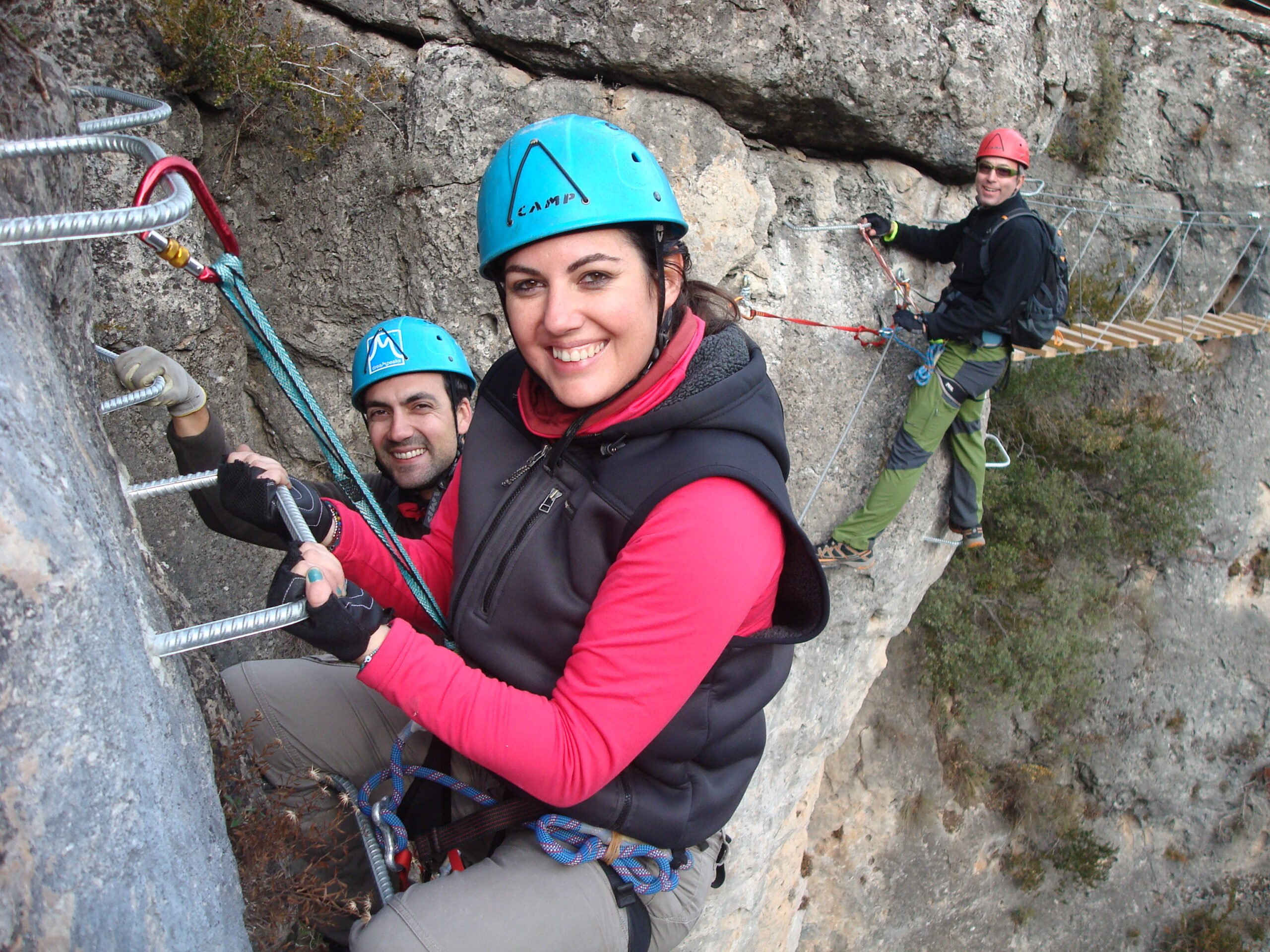 Stunning Activity Just One Hour From Madrid In Our Via Ferrata Adventure Tour