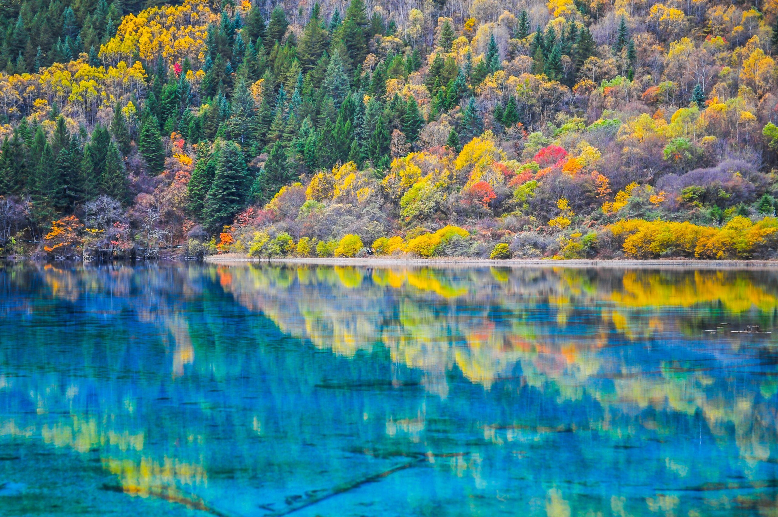 Stunning Views In Our Jiuzhaigou Valley 3 Day Package Scaled