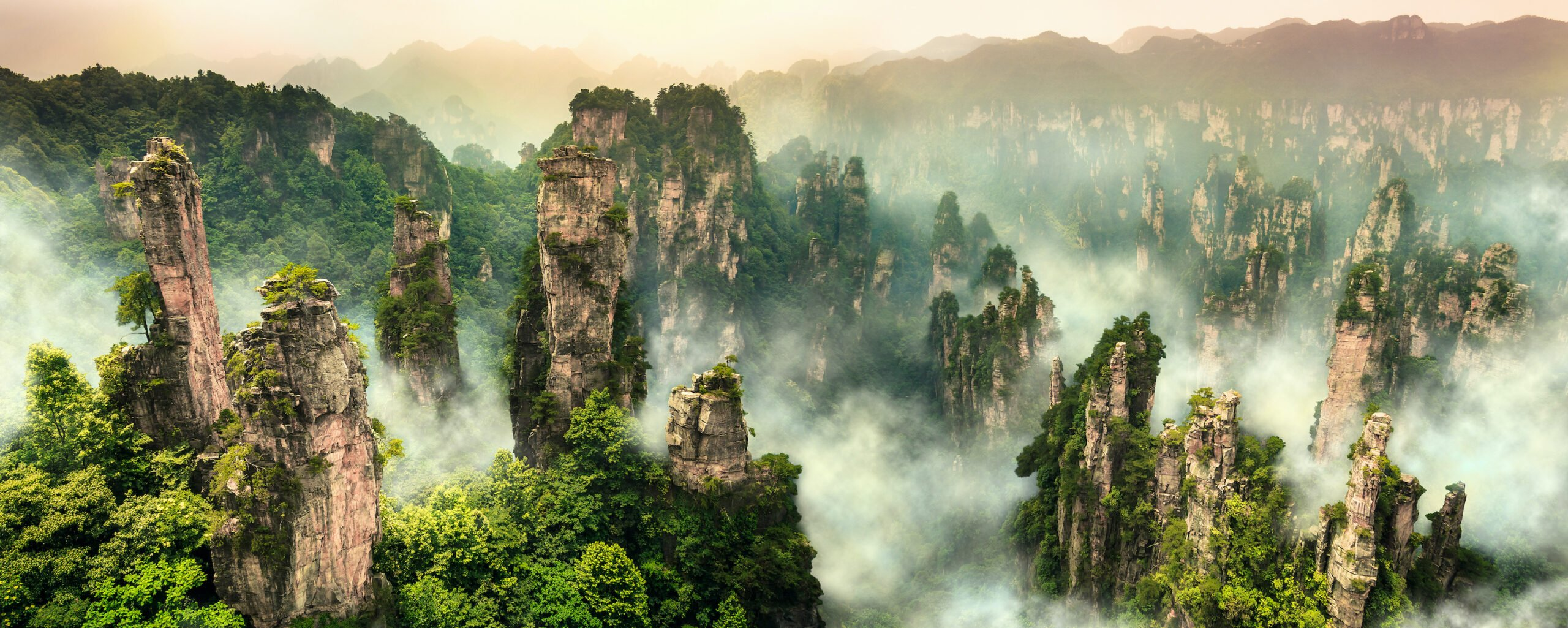 Visit Tianzi Mountain Nature Reserve In Our Zhangjiajie And Fenghuang 4 Day Package Tour