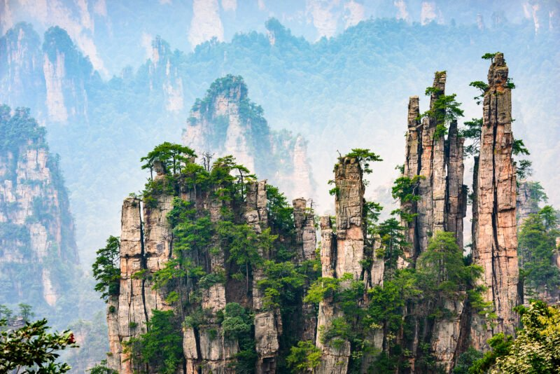 Visit Zhangjiajie National Park In Our Zhangjiajie And Fenghuang 4 Day Package Tour