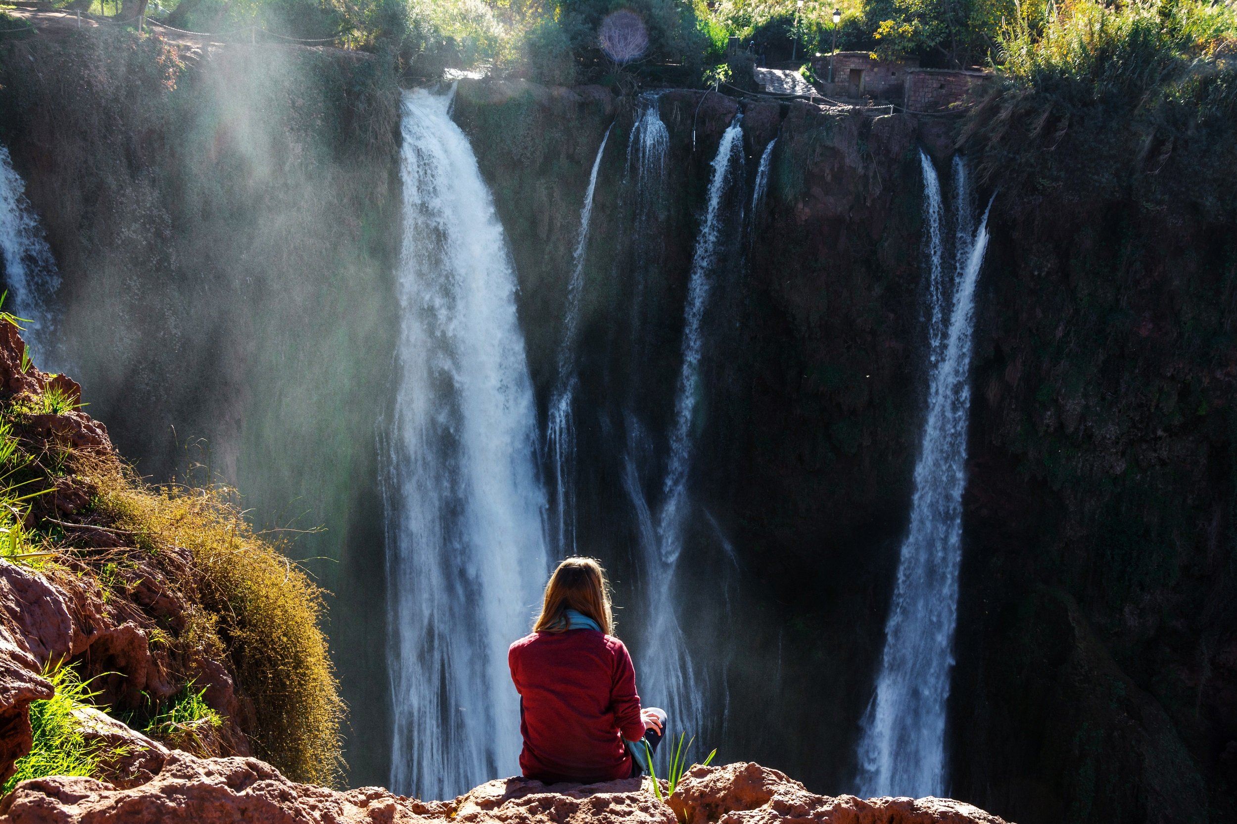 Admire The Beautiful Views Of The Waterfalls On The Ouzoud Waterfalls Tour From Marrakesh