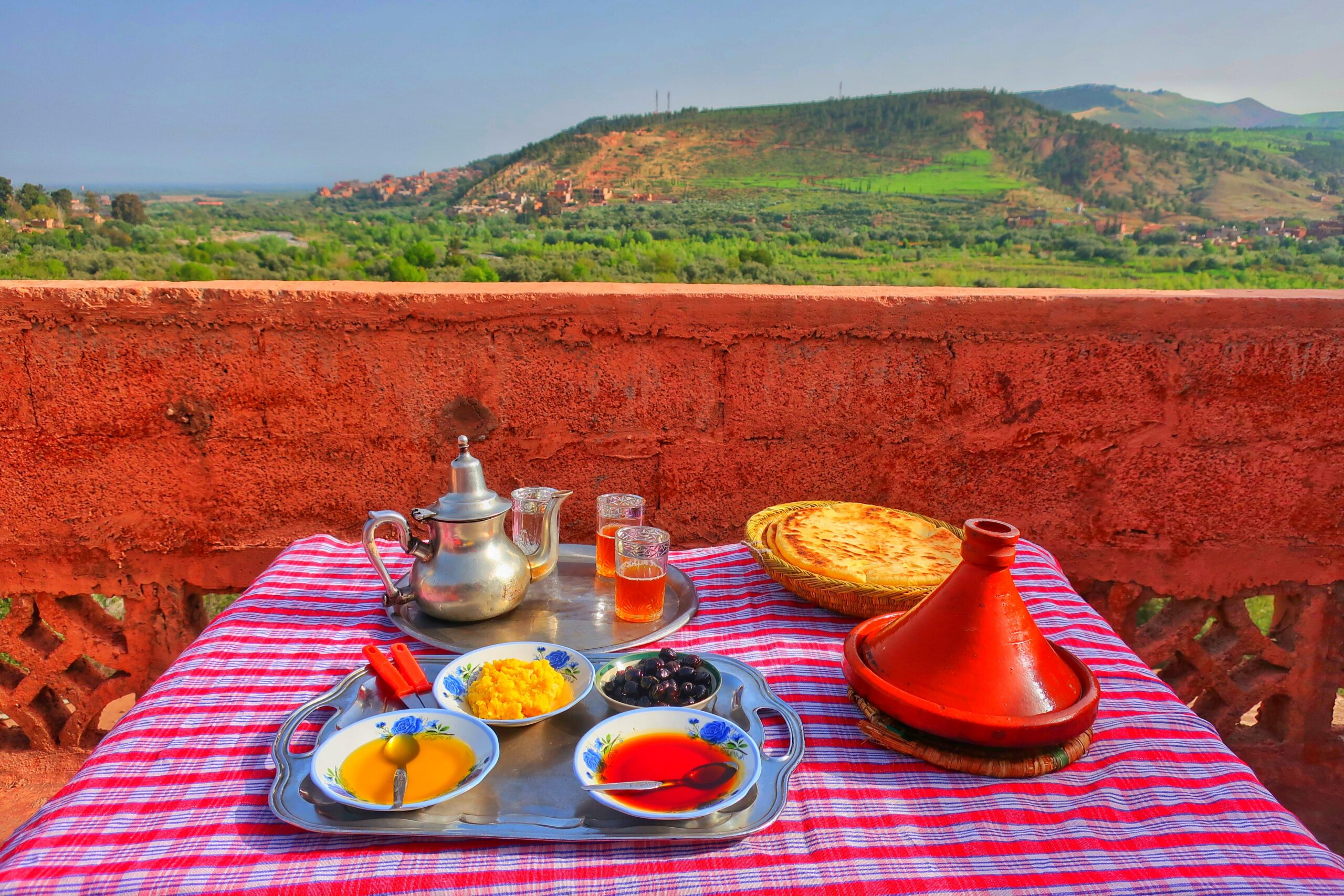 Enjoy A Typical Lunch With Breathtaking Views On The Atlas Mountain Tour From Marrakesh_100