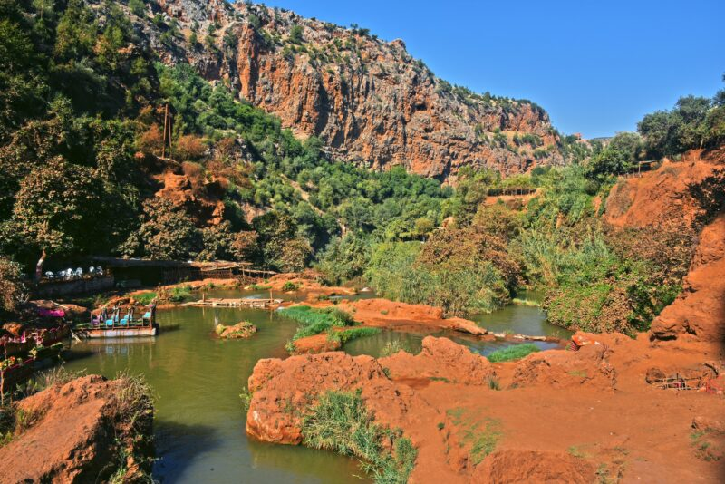 Enjoy The Views Over The Atlas Mountains On The Ouzoud Waterfalls Tour From Marrakesh
