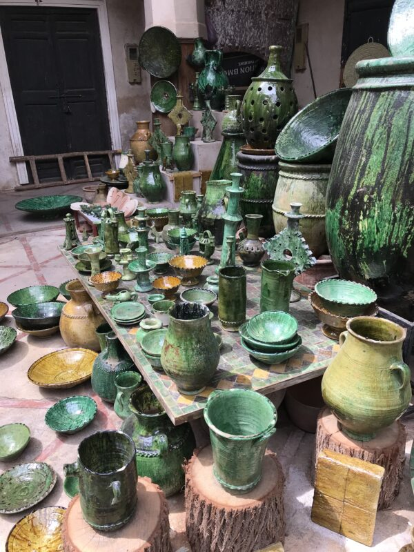 Explore The Workshop Of A Local Artist On The Moroccan Pottery Class With A Local Artist In Marrakesh_102