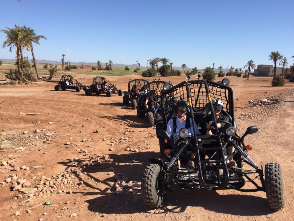 Explore the desert outside of Marrakesh by dune buggy