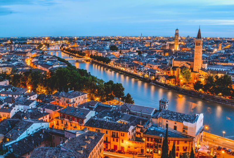 Join Our Verona 5 Day City Break Tour Package