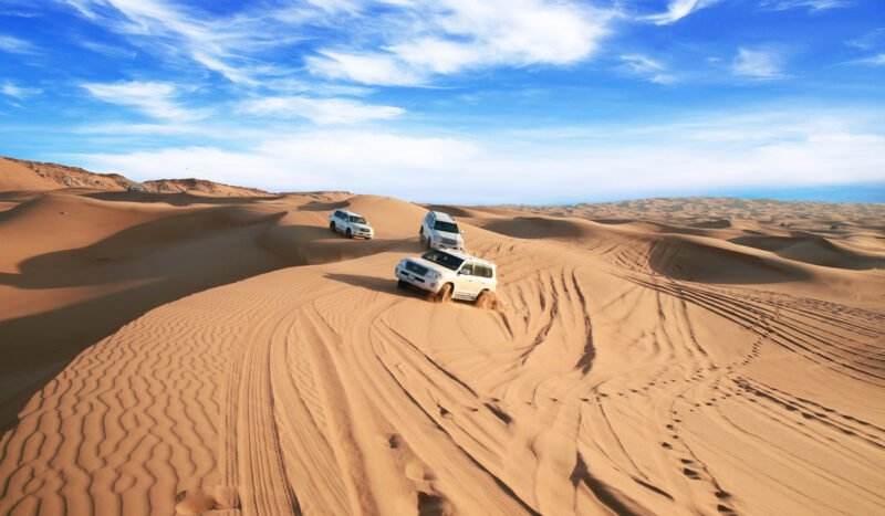 Join The Red Dune Safari, Quad Bike, Sandboarding & Camel Ride Experience From Dubai_101