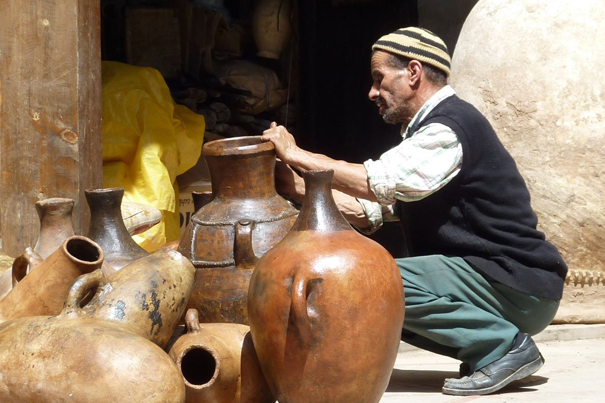 Learn More About The Traditional Pottery On The Moroccan Pottery Class With A Local Artist In Marrakesh_102