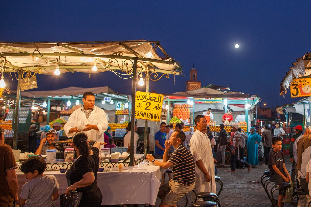 Marvel The Special Atmosphere Of The Medina On The Marrakesh Food & Dinner Experience_100