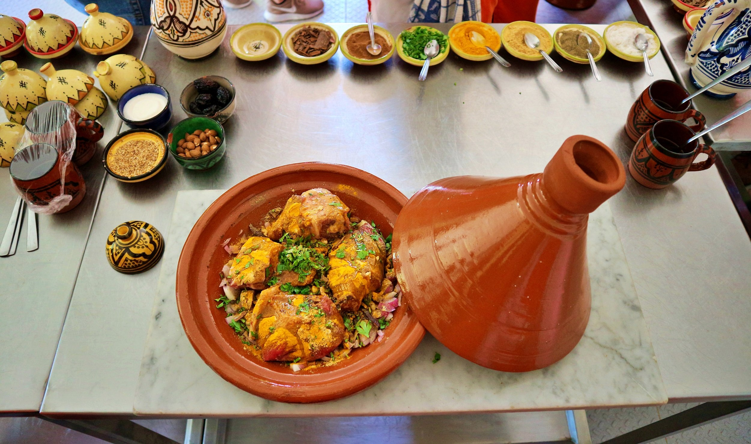 Our Local Chef Will Teach You The Secrets Of Moroccan Cuisine On The Moroccan Cooking Class In Marrakesh