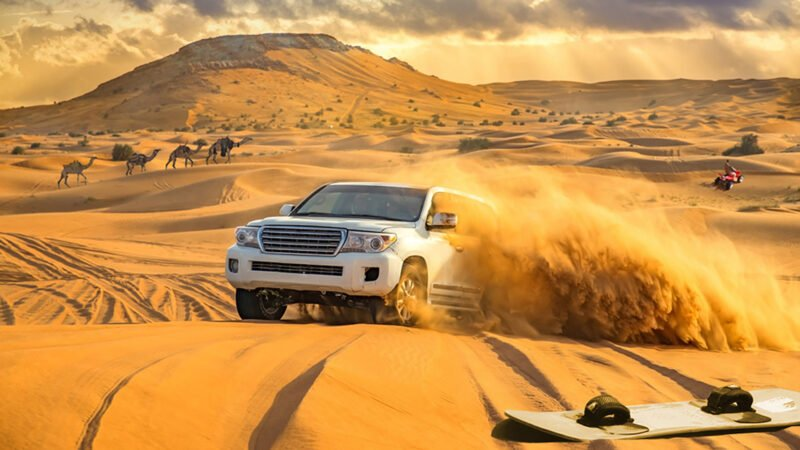 Red Dune Safari, Sandboarding, Camel Ride & Bbq Experience From Dubai_101_2