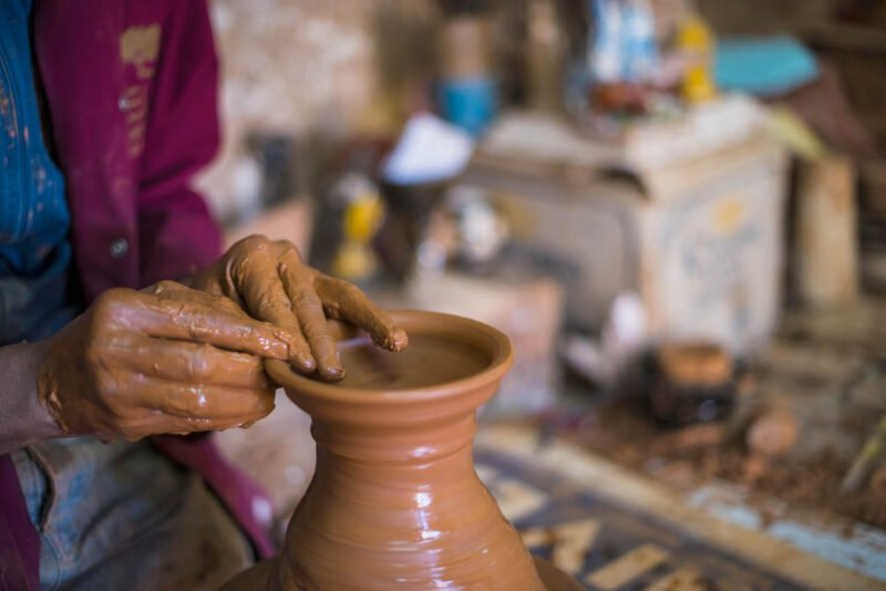 Start To Create Your Own Art On The Moroccan Pottery Class With A Local Artist In Marrakesh_102