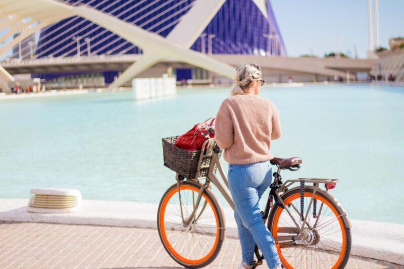 Cycling Through Valencia Streets In Our Valencia Bike Tour