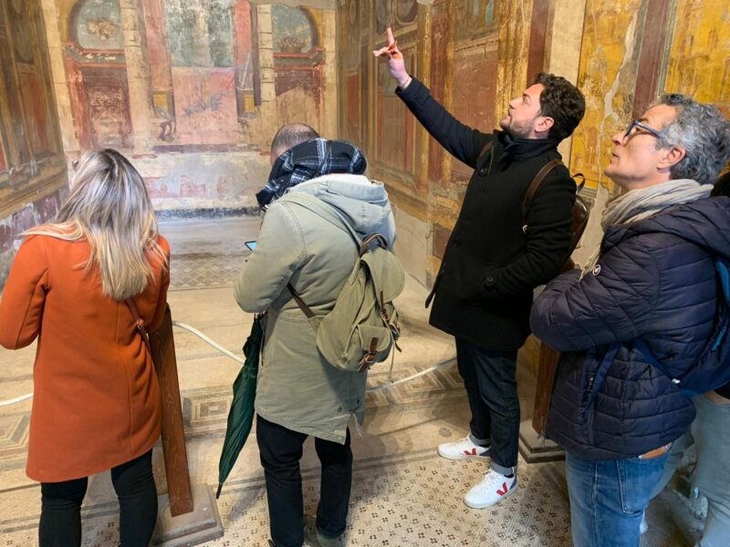 Expert Archaeologist Guide On The Exclusive Insider Pompeii Archaeology Tour_114