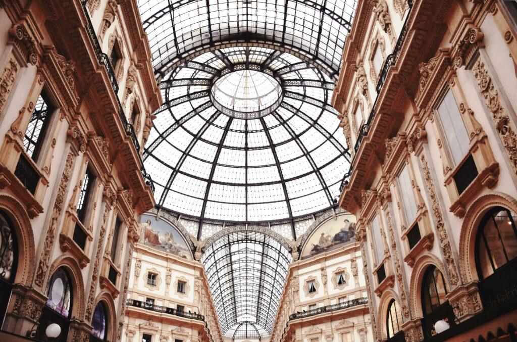 Design Guide Milan Galleria Vittorio Emanuele