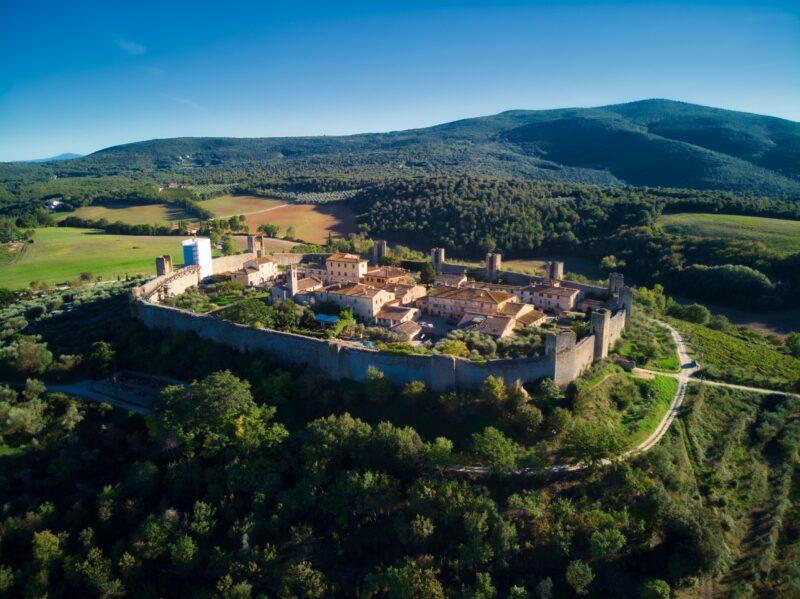 San Gimignano, Chianti, Siena & Monteriggioni Tour From Montecatini & Pisa