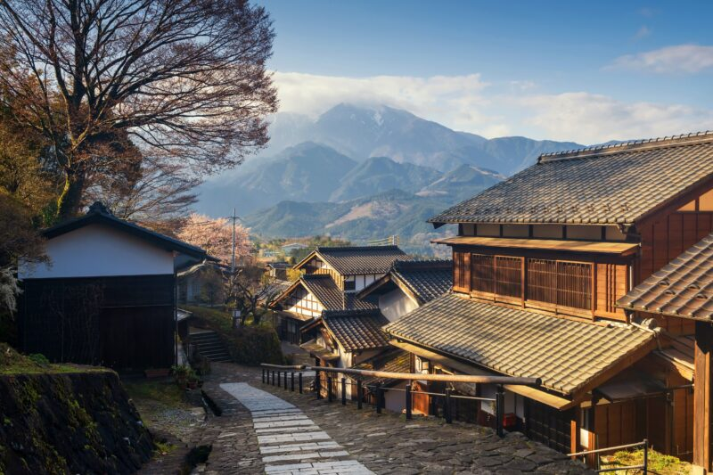 Visit Magome On The 10 Day Samurai Experience Package Tour