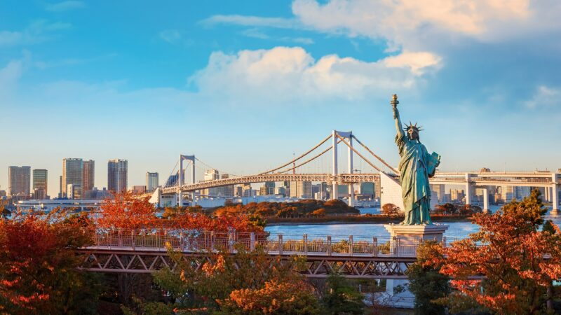 Visit Odaiba Island On The 10 Day Samurai Experience Package Tour